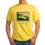 Relaxing Walk Yellow T-Shirt