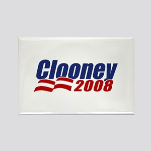 Clooney 2008 Rectangle Magnet