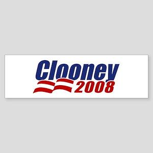Clooney 2008 Bumper Sticker