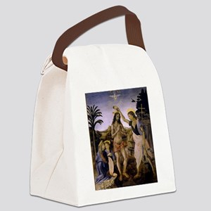 The Baptism of Christ Canvas Lunch Bag