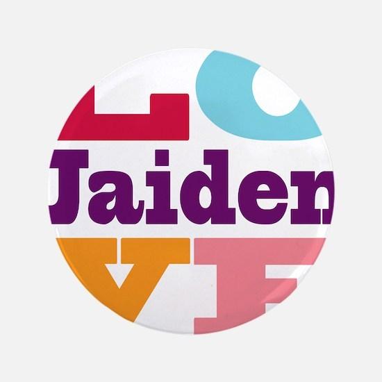 """I Love Jaiden 3.5"""" Button"""