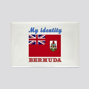 My Identity Bermuda Rectangle Magnet