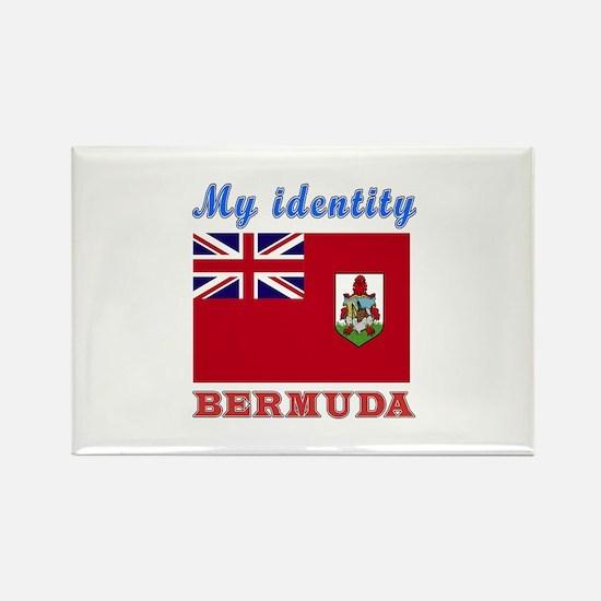 My Identity Bermuda Rectangle Magnet