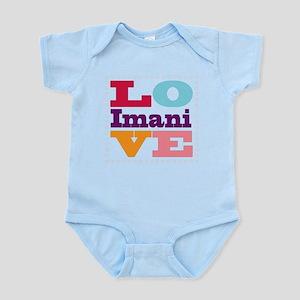 I Love Imani Infant Bodysuit