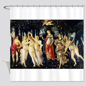 Spring By Botticelli Shower Curtain