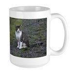 Purr-fectly Posed Large Mug