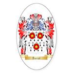 Auriol Sticker (Oval 50 pk)