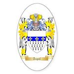 Aupol Sticker (Oval 50 pk)