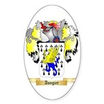 Aungier Sticker (Oval 10 pk)