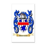 Aumeunier Rectangle Car Magnet