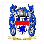 Aumeunier Square Car Magnet 3