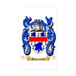 Aumeunier Sticker (Rectangle 50 pk)