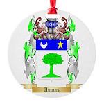 Aumas Round Ornament