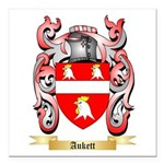 Aukett Square Car Magnet 3