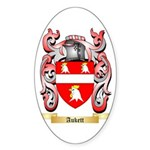 Aukett Sticker (Oval 50 pk)