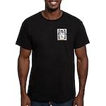 Aujean Men's Fitted T-Shirt (dark)