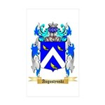 Augustynski Sticker (Rectangle 50 pk)