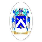 Augustyn Sticker (Oval 10 pk)