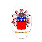 Augusto Oval Car Magnet