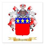 Augusto Square Car Magnet 3