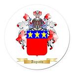 Augusto Round Car Magnet