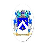 Augustinello Oval Car Magnet