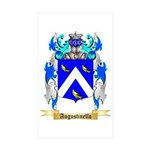 Augustinello Sticker (Rectangle 50 pk)