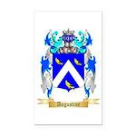 Augustine Rectangle Car Magnet