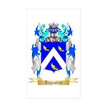 Augustine Sticker (Rectangle 10 pk)