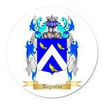 Augustin Round Car Magnet
