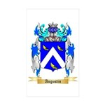 Augustin Sticker (Rectangle 50 pk)