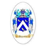 Augustin Sticker (Oval)