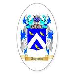 Augustin Sticker (Oval 10 pk)