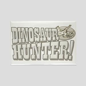 Dinosaur Hunter Rectangle Magnet