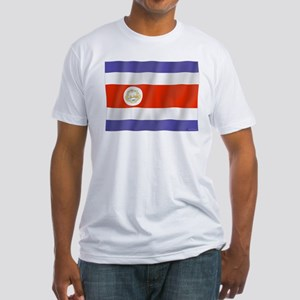 Pure Flag Costa Rica Fitted T-Shirt