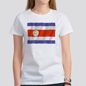 Pure Flag Costa Rica Women's T-Shirt