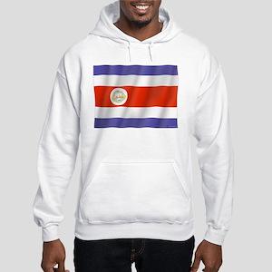 Pure Flag Costa Rica Hooded Sweatshirt