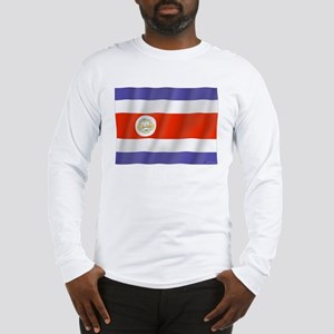 Pure Flag Costa Rica Long Sleeve T-Shirt