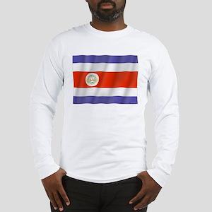Pure Flag Costa Rica Long Sleeve T-Shirt