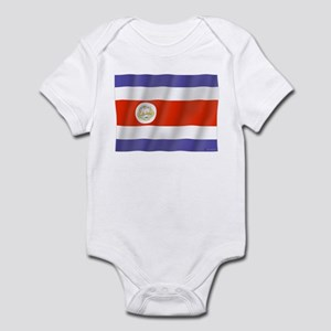 Pure Flag Costa Rica Infant Bodysuit