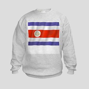 Pure Flag Costa Rica Kids Sweatshirt