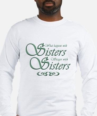 Green Sisters Long Sleeve T-Shirt