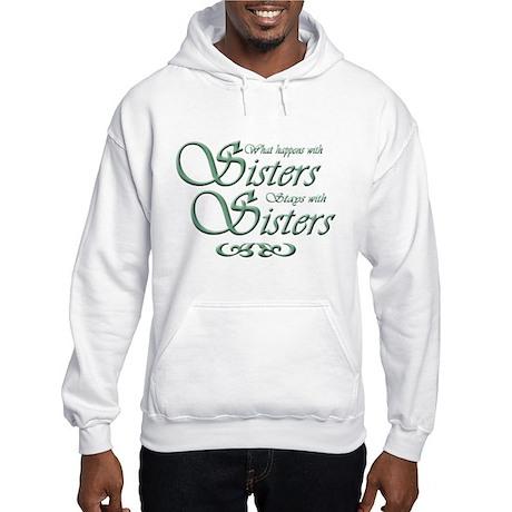 Green Sisters Hooded Sweatshirt