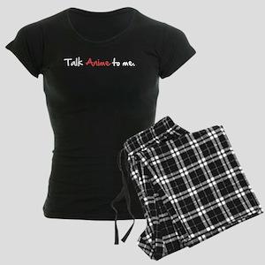 Talk Anime To Me Women's Dark Pajamas