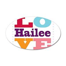 I Love Hailee Wall Decal