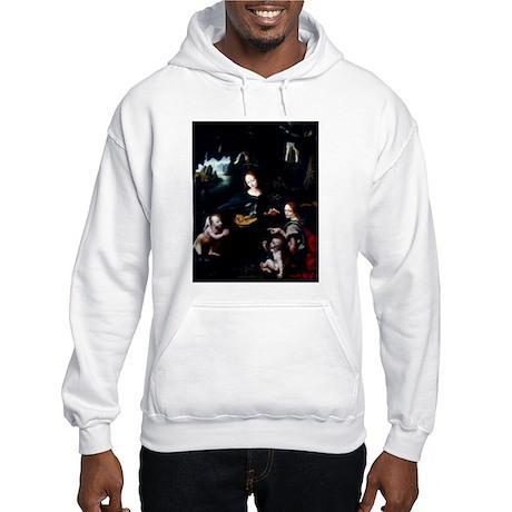 The Virgin of the Rocks Hooded Sweatshirt
