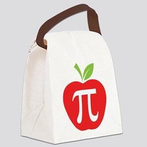 Apple Pi Canvas Lunch Bag