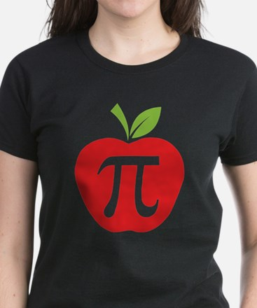 Apple Pi Women's Dark T-Shirt