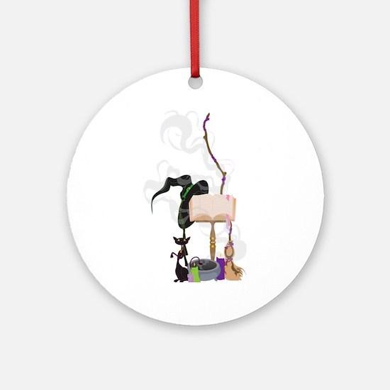 Witchery Ornament (Round)