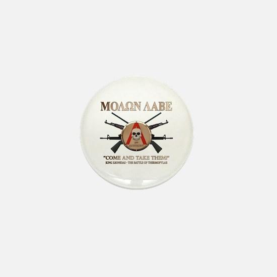 Molon Labe - Spartan Shield Mini Button